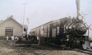 Historical Aurelia Train