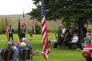 American Legion Ceremony