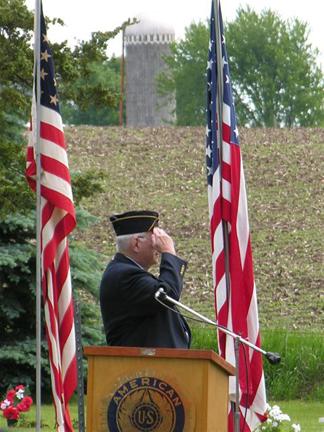 American Legion Flag Salute